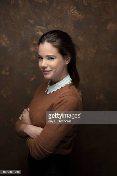 """Actress Laia Costa from """"Piercing is photographed for Los Angeles Times on January 21, 2018 in the L.A. Times Studio at Chase Sapphire on Main,..."""
