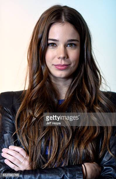 """Actress Laia Costa from the film """"Newness"""" poses for a portrait in the WireImage Portrait Studio presented by DIRECTV during the 2017 Sundance Film..."""