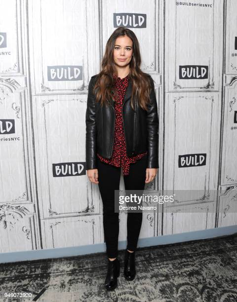 Actress Laia Costa visits Build Series to discuss 'Duck Butter' at Build Studio on April 20, 2018 in New York City.