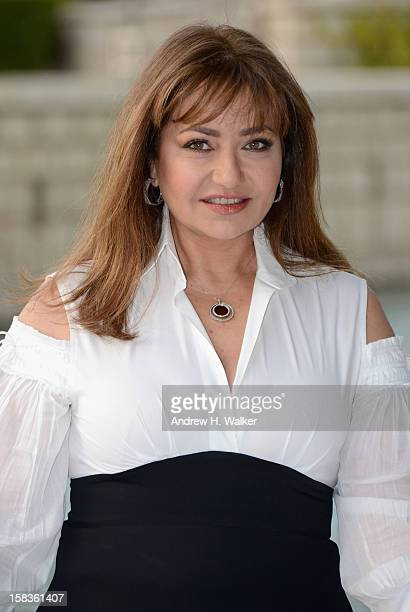 Actress Laila Aloui attends the Egyptian Filmmakers Photocall during day six of the 9th Annual Dubai International Film Festival held at the Madinat...
