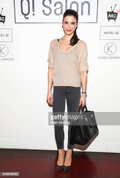 Actress Laila Maria Witt at the 'Goetterbotin unterwegs' book presentation by author Sylvia Reuber and illustrator Nil Auslaender as part of the...