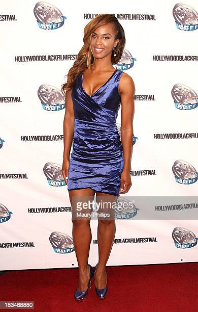 Actress Laila Odom arrives at the 2013 Hollywood Black Film Festival closing night Gala Screening of The Inevitable Defeat of Mister Pete at The...