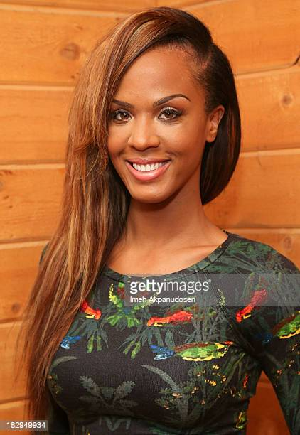 Actress Laila Odom attends the Bounce TV Media Day for 'BRKDWN' and 'My Crazy Roommate' on October 2 2013 in Van Nuys California