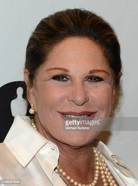 Actress Lainie Kazan arrives at The Academy of Motion Pictures Arts and Science's 'The Last 70mm Film Festival' Screening Of 'It's A Mad Mad Mad Mad...