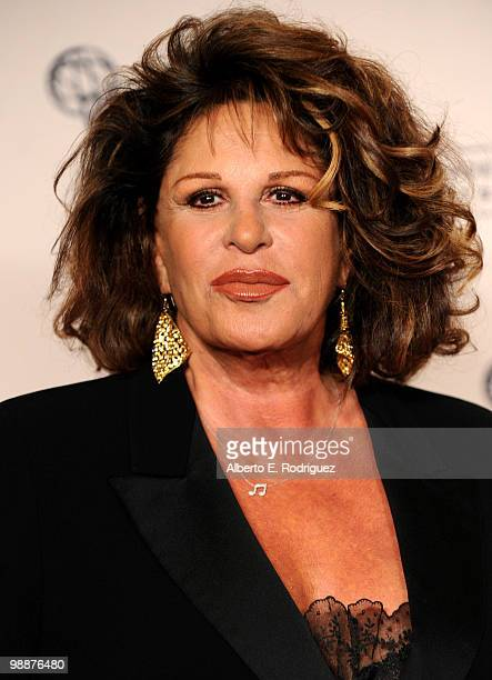 Actress Lainie Kazan arrives at the Academy of Television Arts Sciences' 3rd Annual Academy Honors at the Beverly Hills Hotel on May 5 2010 in...