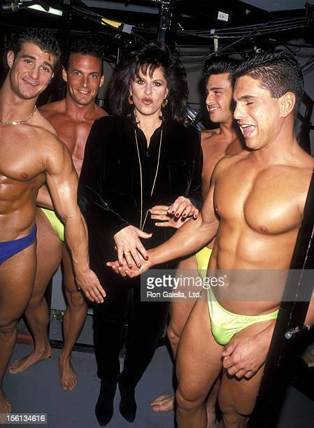 Actress Lainie Kazan attends a 'Taping of the Joan Rivers Show' on February 8 1993 at CBS Broadcast Studios in New York City New York