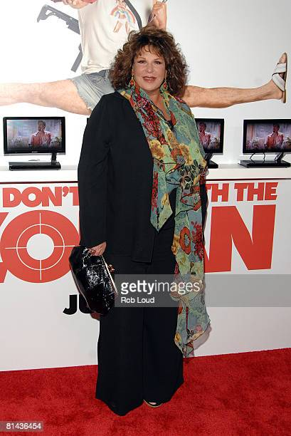 Actress Lainie Kazan attends Columbia Pictures' screening of You Don't Mess With The Zohan on June 4 2008 at the Ziegfeld Theater in New York City