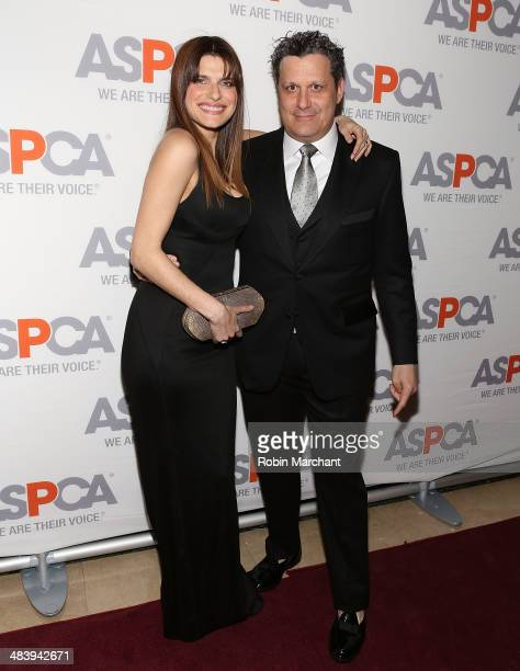 Actress Lake Bell and designer Isaac Mizrahi attend ASPCA's Annual Bergh Ball Gala at The Plaza Hotel on April 10 2014 in New York City
