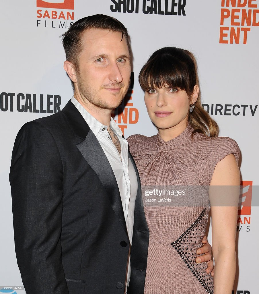 Actress Lake Bell (R) and husband Scott Campbell attend the premiere of 'Shot Caller' at The Theatre at Ace Hotel on August 15, 2017 in Los Angeles, California.