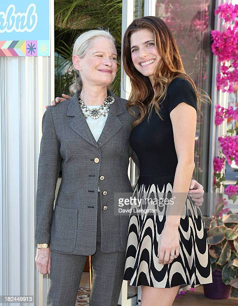 Actress Lake Bell And Mother Designer Robin Attend Airbnb Presents Hello La Day 3 In