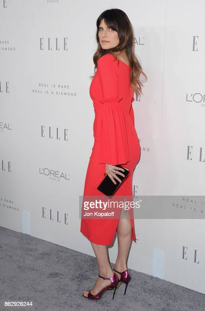 Actress Lake Bell arrives at ELLE's 24th Annual Women in Hollywood Celebration at Four Seasons Hotel Los Angeles at Beverly Hills on October 16, 2017...