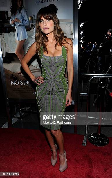 Actress Lake Bell arrives at Paramount Pictures' No Strings Attached premiere at Regency Village Theater on January 11 2011 in Westwood California