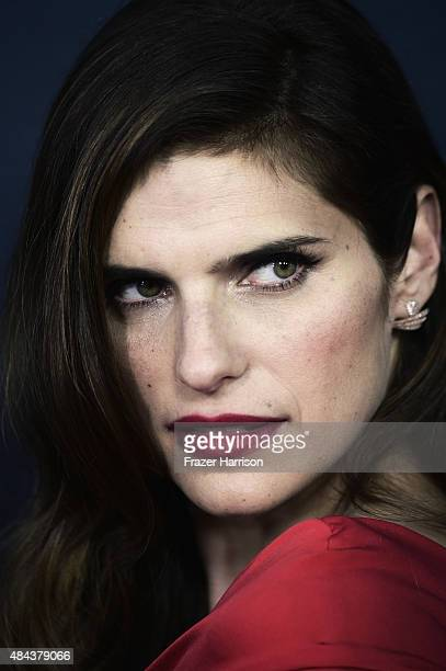 Actress Lake Bell arrives at The Premiere Of The Weinstein Company's No Escape at Regal Cinemas LA Live on August 17 2015 in Los Angeles California
