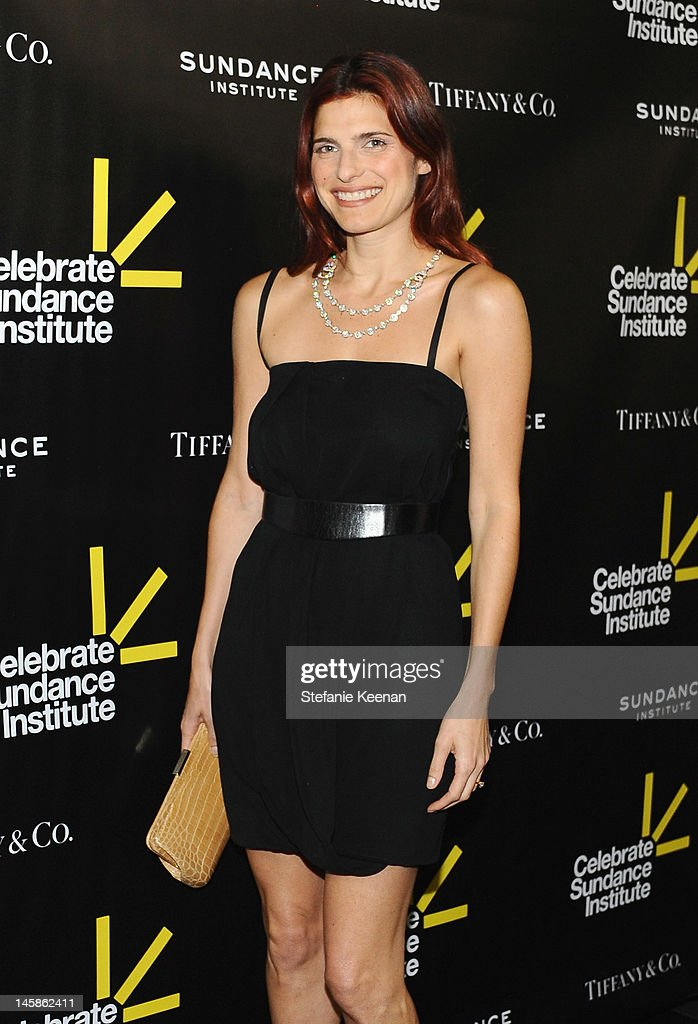 Actress Lake Bell arrives at the Sundance Institute Benefit presented by Tiffany & Co. in Los Angeles held at Soho House on June 6, 2012 in West Hollywood, California.