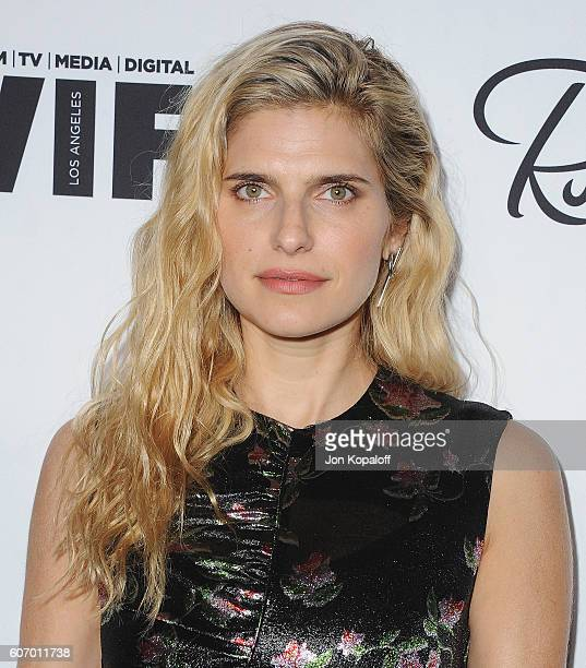 Actress Lake Bell arrives at Variety And Women In Film's PreEmmy Celebration at Gracias Madre on September 16 2016 in West Hollywood California