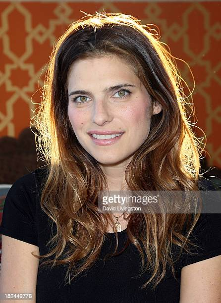 Actress Lake Bell attends Airbnb presents Hello LA Day 3 in The Arts District on September 29 2013 in Los Angeles California