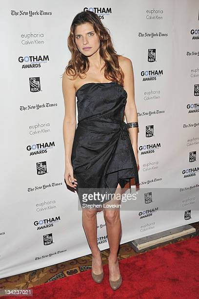 Actress Lake Bell attends IFP's 21st annual Gotham Independent Film awards at Cipriani Wall Street on November 28 2011 in New York City
