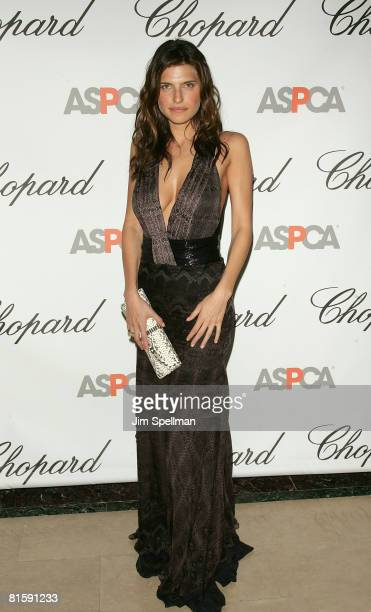 Actress Lake Bell attends the 11th Annual ASPCA Bergh Ball at the Plaza Hotel on April 17 2008 in New York City