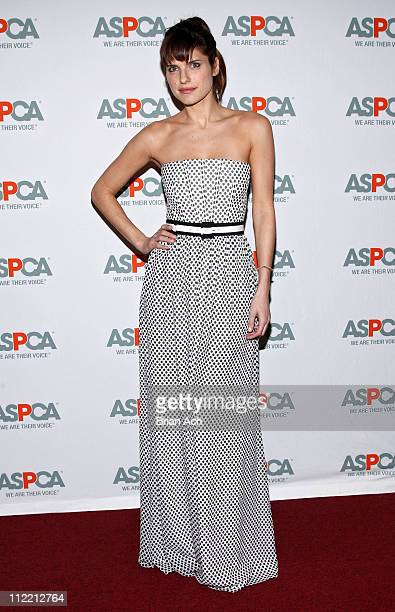 Actress Lake Bell attends the 14th Annual ASPCA Bergh Ball at The Plaza Hotel on April 14 2011 in New York City