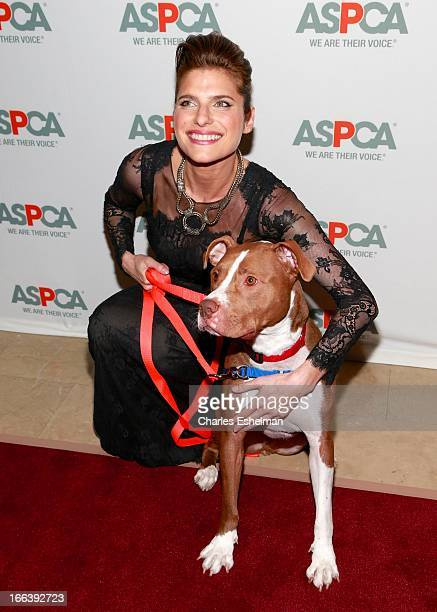 Actress Lake Bell attends the 16th Annual ASPCA Bergh Ball at The Plaza Hotel on April 11 2013 in New York City