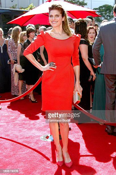 Actress Lake Bell attends the 2013 Creative Arts Emmy Awards Ceremony held at the Nokia Theatre L.A. Live on September 15, 2013 in Los Angeles,...