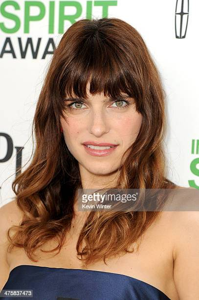 Actress Lake Bell attends the 2014 Film Independent Spirit Awards at Santa Monica Beach on March 1 2014 in Santa Monica California