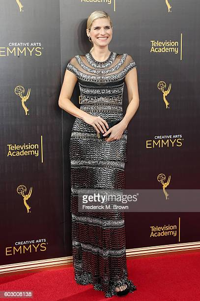 Actress Lake Bell attends the 2016 Creative Arts Emmy Awards at Microsoft Theater on September 11 2016 in Los Angeles California