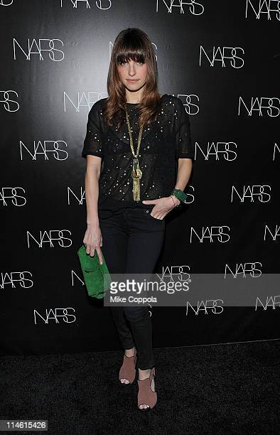 Actress Lake Bell attends the book celebration for Makeup Your Mind Express Yourself by Francois Nars at Cedar Lake on May 24 2011 in New York City