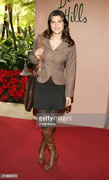 Actress Lake Bell attends The Hollywood Reporter's Annual Women In Entertainment Power 100 Breakfast at the Beverly Hills Hotel on December 7 2004 in...