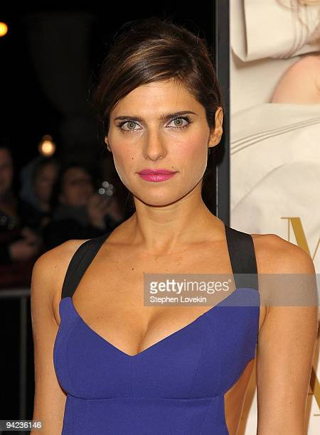 Actress Lake Bell attends the New York premiere of It's Complicated at The Paris Theatre on December 9 2009 in New York City