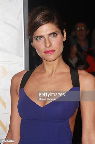 Actress Lake Bell attends the New York premiere of the movie It's Complicated held at the Paris theater in Manhattan on December 9 2009 in New York...
