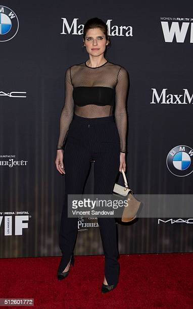 Actress Lake Bell attends the Ninth Annual Women In Film Pre-Oscar Cocktail Party Presented By Max Mara, BMW, M-A-C Cosmetics And Perrier-Jouet at...