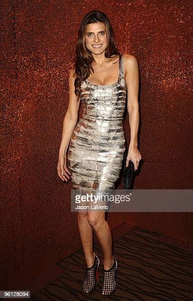 Actress Lake Bell attends the official HBO after party for the 67th annual Golden Globe Awards at Circa 55 Restaurant at the Beverly Hilton Hotel on...