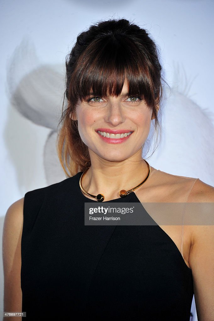 Actress Lake Bell attends the premiere of Twentieth Century Fox and DreamWorks Animation's 'Mr. Peabody & Sherman' at Regency Village Theatre on March 5, 2014 in Westwood, California.