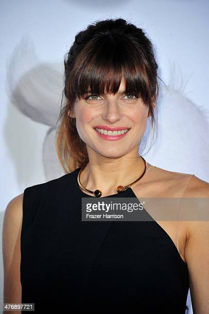 """Actress Lake Bell attends the premiere of Twentieth Century Fox and DreamWorks Animation's """"Mr. Peabody & Sherman"""" at Regency Village Theatre on..."""