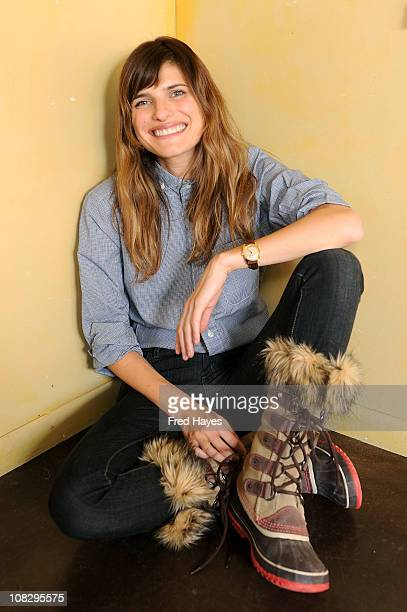 Actress Lake Bell attends the SAG Indie Director's Brunch on January 24 2011 in Park City Utah