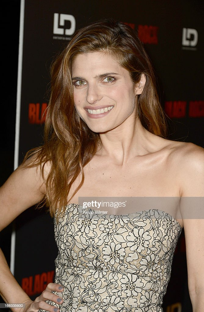 Actress Lake Bell attends the screening of LD Entertainment's 'Black Rock' at ArcLight Hollywood on May 8, 2013 in Hollywood, California.
