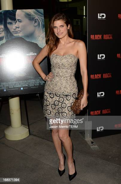 Actress Lake Bell attends the screening of LD Entertainment's 'Black Rock' at ArcLight Hollywood on May 8 2013 in Hollywood California