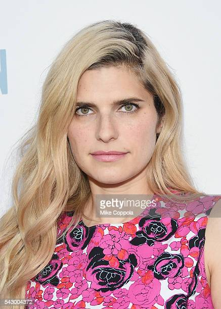 Actress Lake Bell attends The Secret Life Of Pets New York Premiere at David H Koch Theater at Lincoln Center on June 25 2016 in New York City