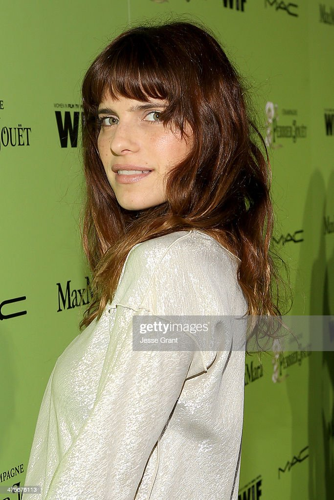 Actress Lake Bell attends the Women In Film Pre-Oscar Cocktail Party presented by Perrier-Jouet, MAC Cosmetics & MaxMara at Fig & Olive Melrose Place on February 28, 2014 in West Hollywood, California.