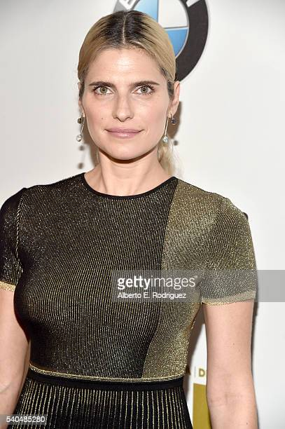 Actress Lake Bell attends Women In Film 2016 Crystal Lucy Awards Presented by Max Mara and BMW at The Beverly Hilton on June 15 2016 in Beverly Hills...