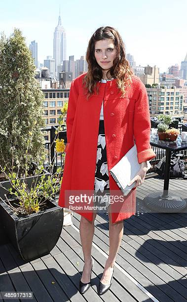 Actress Lake Bell attends Women's Film Brunch at Company 3 on April 21 2014 in New York City