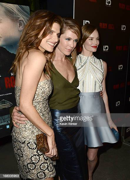 """Actress Lake Bell, director/producer Katie Aselton, and actress Kate Bosworth attend the screening of LD Entertainment's """"Black Rock"""" at ArcLight..."""