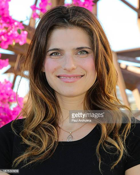 Actress Lake Bell Hosts Airbnb Hello LA with celebrity designed PopUps at The Arts District on September 29 2013 in Los Angeles California