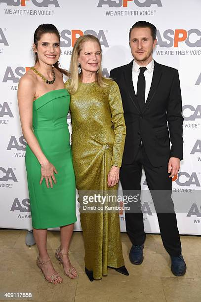 Actress Lake Bell Robin Bell and artist Scott Campbell attend ASPCA'S 18th Annual Bergh Ball honoring Edie Falco and Hilary Swank at The Plaza Hotel...