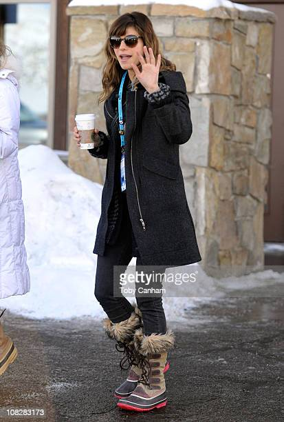 Actress Lake Bell seen on Main Street during the 2011 Sundance Film Festival on January 23 2011 in Park City Utah