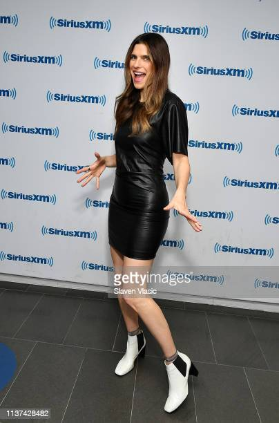 Actress Lake Bell visits SiriusXM Studios on April 15 2019 in New York City