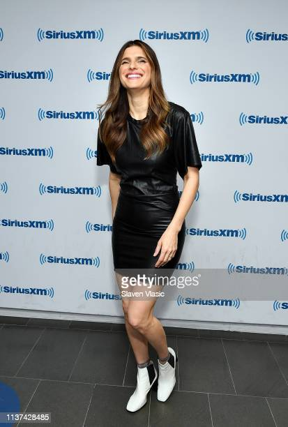 Actress Lake Bell visits SiriusXM Studios on April 15 2019 in New York City