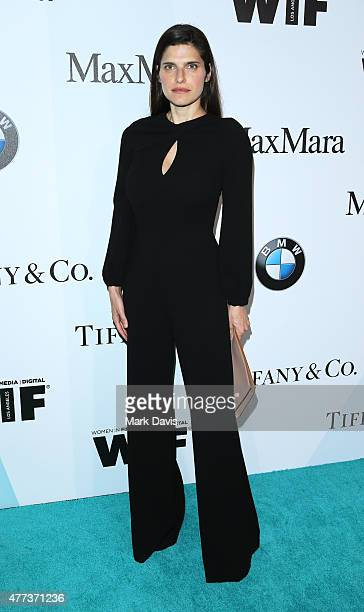 Actress Lake Bell wearing Max Mara attends the Women In Film 2015 Crystal Lucy Awards Presented by Max Mara BMW of North America and Tiffany Co at...