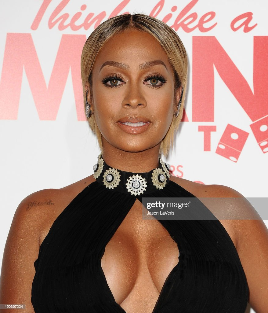 Actress LaLa Anthony attends the premiere of 'Think Like A Man Too' at TCL Chinese Theatre on June 9, 2014 in Hollywood, California.